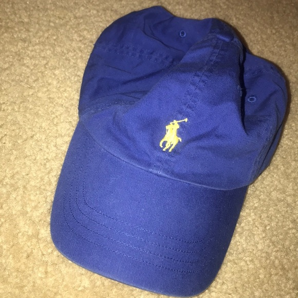 c81b0806fa07 Navy blue Polo hat. M 5c4e6db96a0bb7ec1d07d7cb
